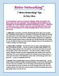 Click for Retro-Networking Tips